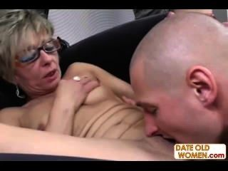 Doable Granny Likes Young Guys