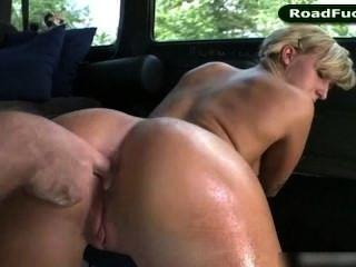 Hot Blonde Nikki Blake Fucks Off
