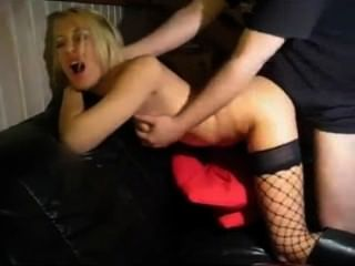German Blond Teen Gets Fucked