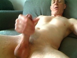 Me Stroking My Hard Dick With Big Finish