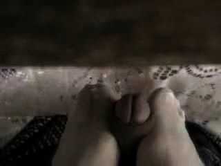 Footjob In Restaurant