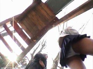 School Girl Panties Stalker
