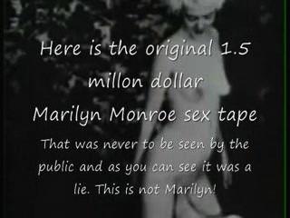 Marilyn Monroe Original Sex Tape Lie