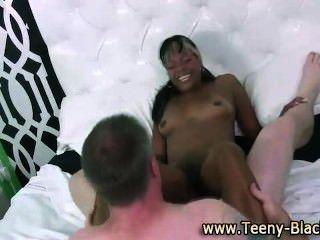 Horny Black Teen Slut Rides