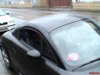 2009-10-05 Deblikova - A Quicky In The Car