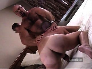 Straight guy fucks tight gay ass for money