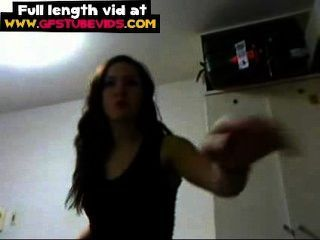 Teen Girlfriend Wants To Have More Fans In Facebook Recording A Hot Video
