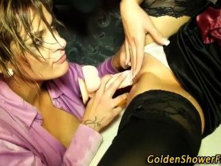 Golden Shower Fetish Pissing Orgy