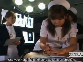 Subtitled Pov Japanese Nurses Hospital Oral Sex Seminar