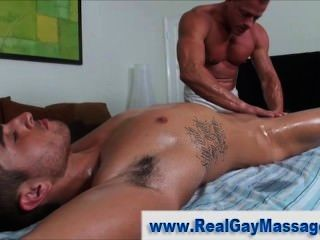Masseuse Toys With Clients Dick