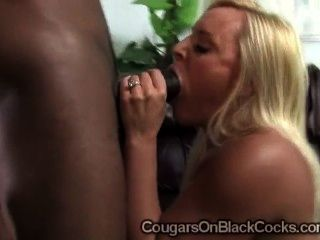 Big Boobed Milf Alexis Golden Eats A Massive Black Schlong In Pov
