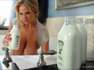 Kelly Madisons Got Milk She Is Bathing In It