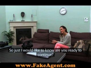 Fake Porn Agent Fucking Amateur Girl