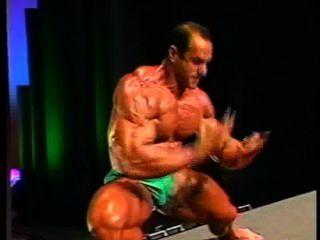 Bodybuilder With A Sexy Boner