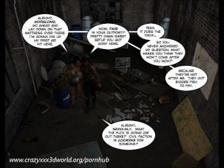3d Comic: Nanta Project. Episode 2