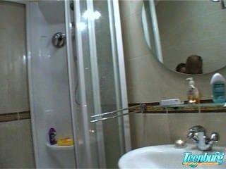Russian Amateurs Botik & Lukava Bathroom Fuck
