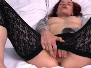 Czech Model Leila Gaping Gyno Cunt