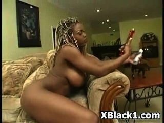 Nasty Erotic Tasty Black Slut Pounded