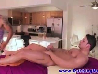 Huge Muscled Straight Black Guy Goes Gay