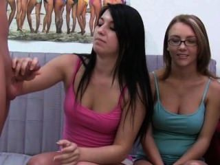 Young Girls With Glasses Suck Dick
