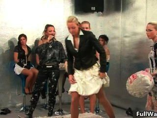 Group Of Horny Euro Babes Love Doing Part4