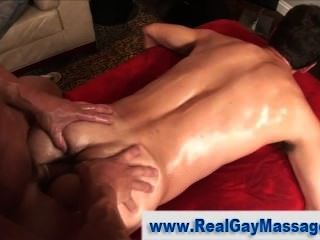 Turned Straighty Gay Masseur Ass Fucked
