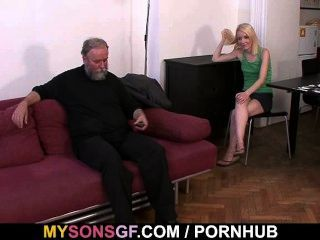 She Gets Punished And Rides His Cock