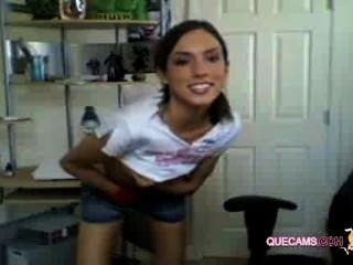 Cute Girl Enjoys Webcam - Session 1695