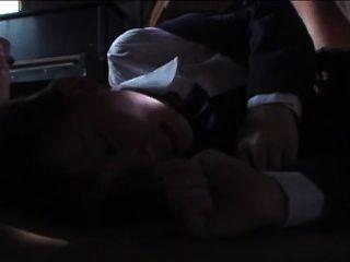Japanese Blazor School Girl Rachikankin Kayama 01