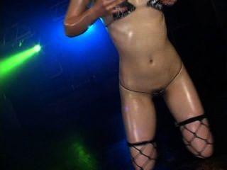 Haruka Hitomi Hot Bikini Oil Dancing