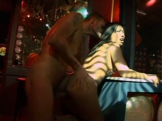 Asian Stripper In High Heels Loves A Big Cock