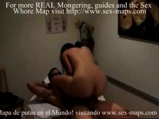 Asian Prostitute At Work In Massage Parlour
