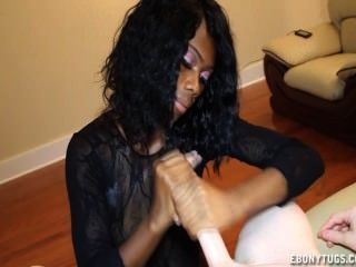 Teen Ebony Loves Big Boners