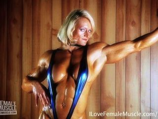 Busty fitness hardbodied sexy woman topic, very