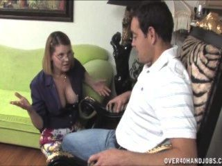 Naughty Milf Jerking Off