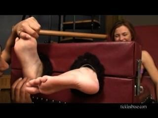 foot tickling feet
