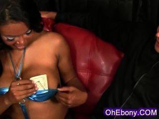Ebony Beauty Is A Very Sexy Dancer