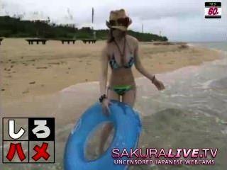 Hot Japanese Beach Teens Fucked