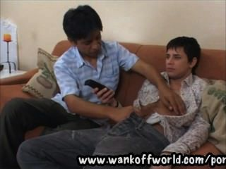 Cristian And Morocho Are An Older With Younger Man Latino Gay Couple