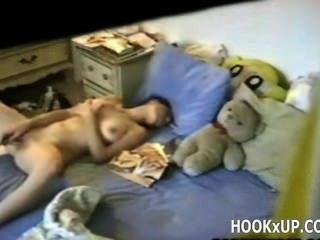 Brunette Masturbating - Hookxup_com