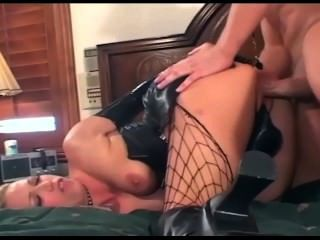 Adult bitch chick fucks cock thats too big for her huge