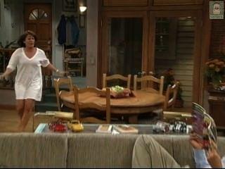Patricia Richardson Jill Running Wearing Nightie