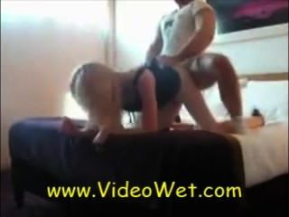 Dirty Blond Fucked From Behind