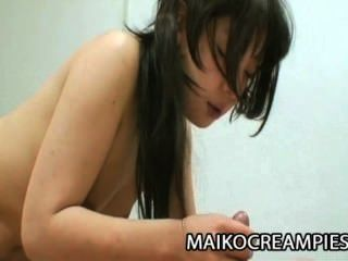 Yukari Kiyoi - Oriental Mom Hairy Pussy Explored And Jizzled