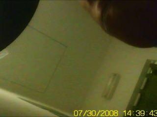 Spy Cam - Girl Strips In A Spa Dress Room