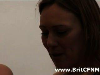 Four British Cfnm Girls Wank Pool Guy