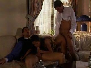 Exotic French Slut Threesome