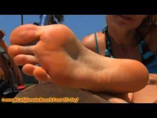 California Girl Feet