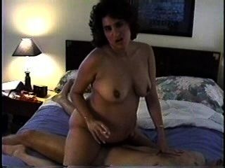 Pregnant Milf Smoking And Riding
