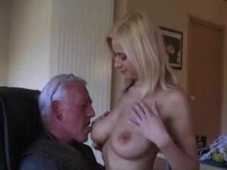 Girl Swallow Old Cum